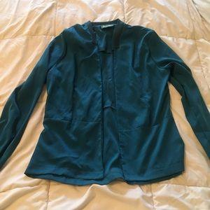 Aqua comes jacket